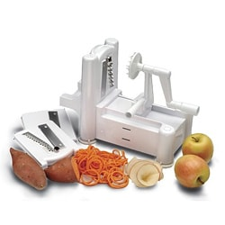 Paderno World Cuisine Tri-blade Vegetable Slicer