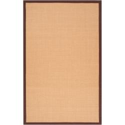 Woven Brown Hillsborough West Natural Fiber Casual Sisal Rug (9' x 12')