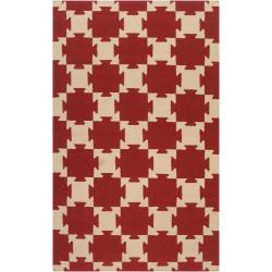 Hand-Woven Queens Bay Wool Area Rug (8' x 11')
