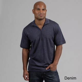 Minus33 Men's 'Tarleton' Merino Wool Lightweight 1/4-zip Base Layer Shirt