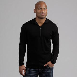 Minus33 Men's 'Allagash' Merino Wool Lightweight 1/4-zip Base Layer Shirt
