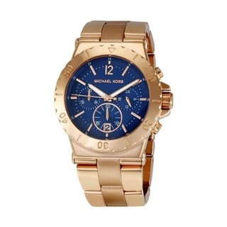 Michael Kors Women's Rose Gold-Tone Bel Aire Watch