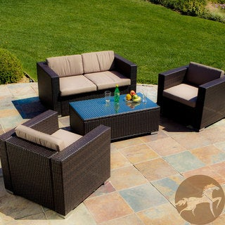 Wicker Patio Furniture | Overstock.com: Buy Sofas, Chairs