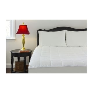 Outlast Cotton 350 Thread Count Quilted  Mattress Pad