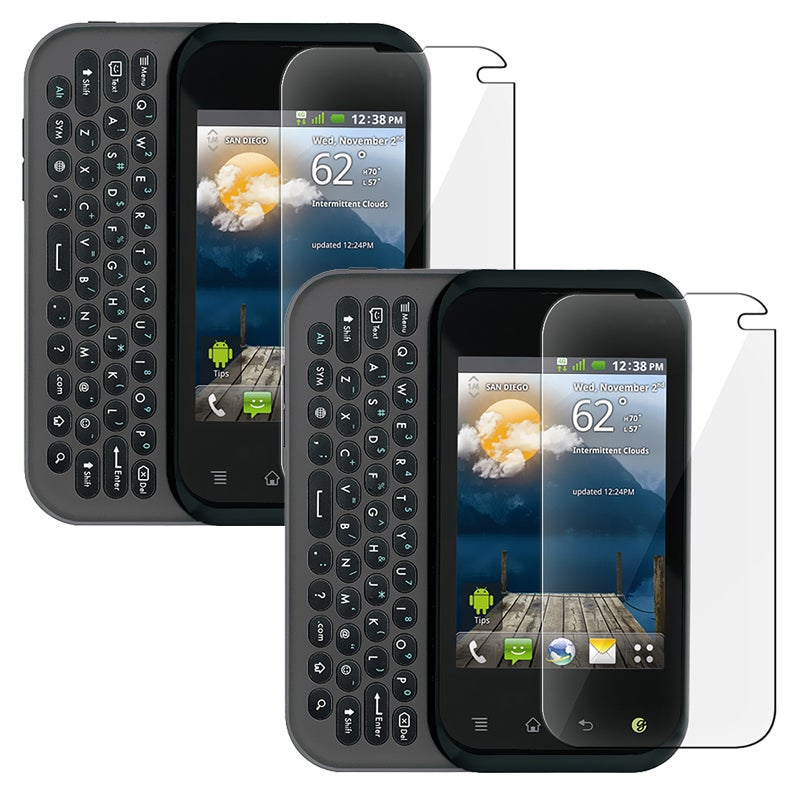 INSTEN Clear Screen Protector for LG MyTouch Q (Pack of 2)