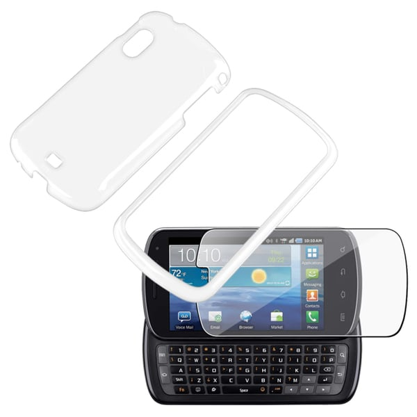 INSTEN Crystal Phone Case Cover/ Screen Protector for Samsung Stratosphere i405