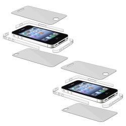 Full Body and Edge Screen Protector for Apple iPhone 4 AT&T