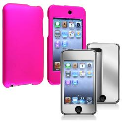 INSTEN iPod Case Cover/ Mirror Screen Protector for Apple iPod Touch Generation 2/ 3
