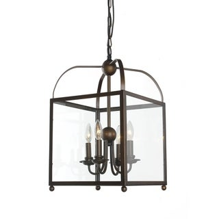 Angelo Bronze Lantern Chandelier