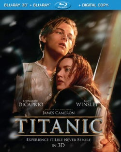 Titanic 3D (Blu-ray Disc)