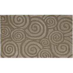 Nourison Textures Kitchen Taupe Rug (1'8 x 2'9)