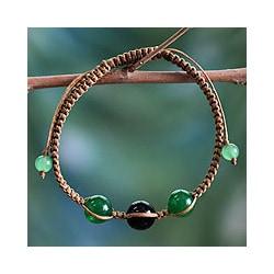 Onyx 'Protective Tranquility' Bracelet (India)