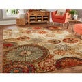 Mohawk Home Caravan Medallion Area Rug (5' x 8')