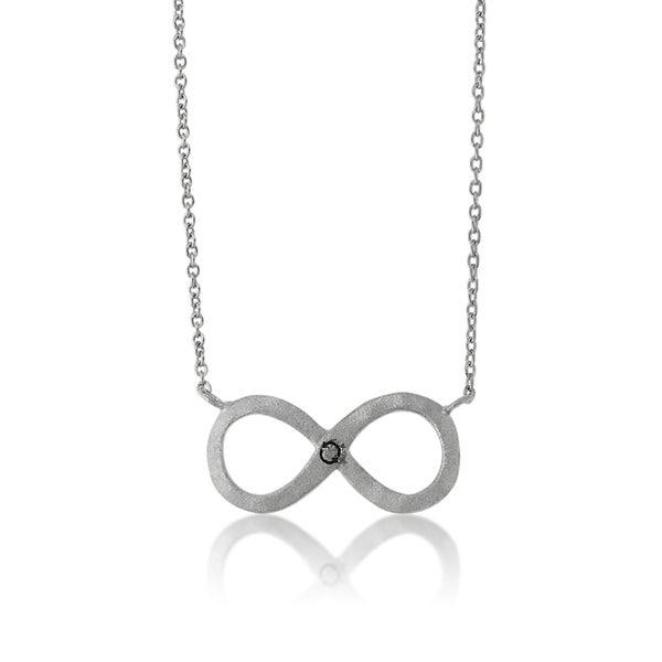 La Preciosa Sterling Silver Infinity Necklace (16-inch)