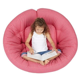 Scoop Pink Dot Futon Chair