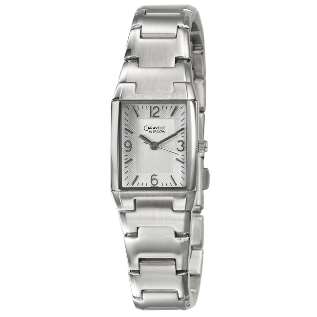 Caravelle by Bulova Women's 'Bracelet' Stainless Steel Quartz Watch