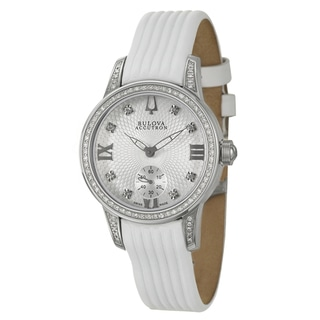 Bulova Accutron Women's 'Masella' Stainless Steel Quartz Watch