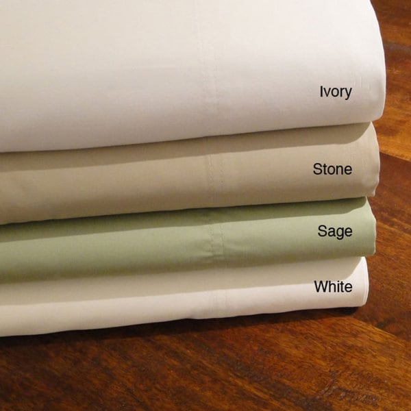 Cotton Sateen 600 Thread Count King-size Sheet Set