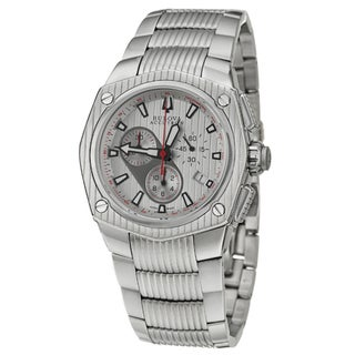 Bulova Accutron Men's 'Corvara' Stainless Steel Quartz Watch