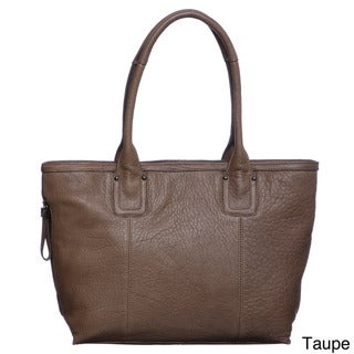 Perlina Cythina Leather Tote Bag