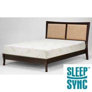 Sleep Sync 12-inch Full-size Latex Foam Mattress