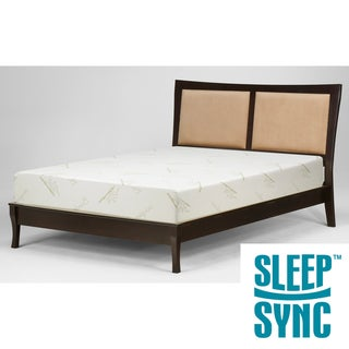 Sleep Sync 12-inch California King-size Latex Foam Mattress