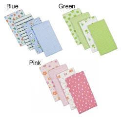 Gerber Flannel Diaper Burp Cloths (Pack of 4)