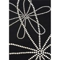 Hand-tufted Floridly Black Wool Rug (8' x 10')