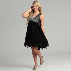 Issue New York Women's Black Sequin Dress