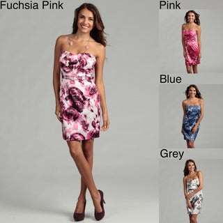 Issue New York Women's Floral Belted Sheath Dress