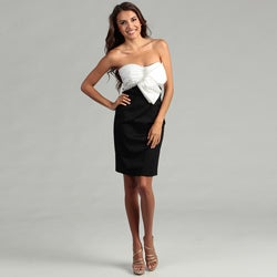 Issue New York Women's Two-tone Asymmetrical Dress