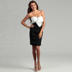 Issue New York Women's Two-tone Asymmetrical Dress