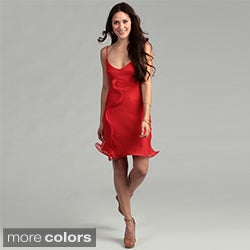 Issue New York Women's Silk Ruffle Dress