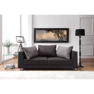 Furniture of America Breyani Two Tone Contemporary Sofa Bed