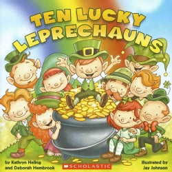 Ten Lucky Leprechauns (Paperback)