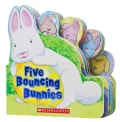 Five Bouncing Bunnies (Board book)