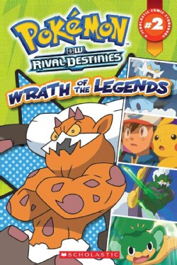Pokemon Comic Storybook 2: Wrath of the Legends (Paperback)