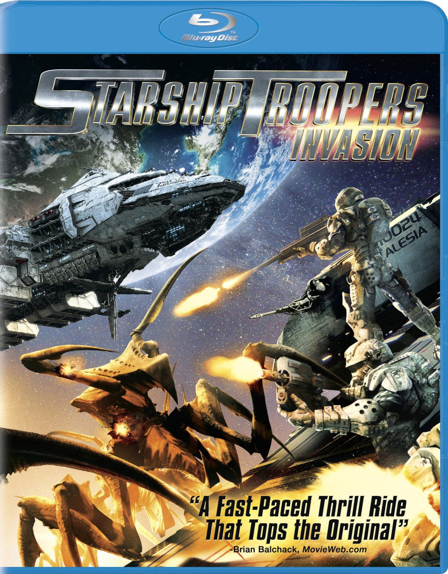 Starship Troopers: Invasion (Blu-ray Disc)