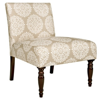 angelo:HOME Bradstreet Filigree Cream Tan Armless Chair