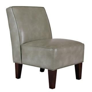 Portfolio Madigan Grey Renu Leather Armless Chair