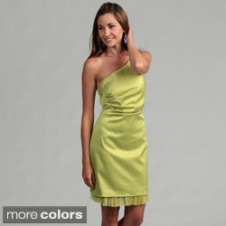 Issue New York Women's One-shoulder Cocktail Dress