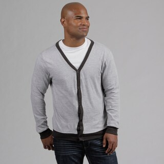 Modern Culture Men's Heather Grey Cardigan FINAL SALE