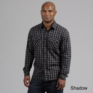 Modern Culture Men's Plaid Woven Shirt  FINAL SALE
