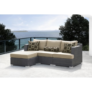 Sirio Morgan Modular 4-piece Sofa Patio Set