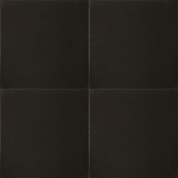 Granada Tile Echo Collection Black Cement Tiles (Case of 50)