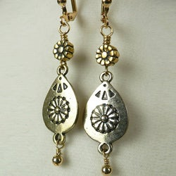 'McKenzie' Metal Earrings