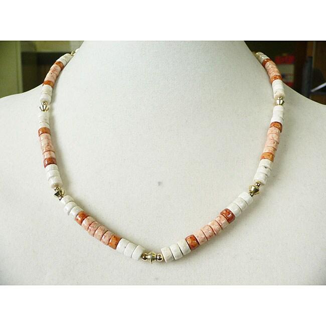 Palmtree Gems 'Sunset Beach' Men's Necklace