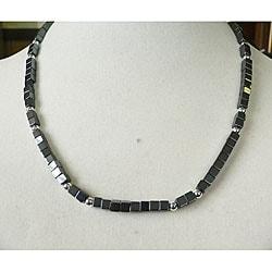 'Joshua' Hematite Men's Necklace