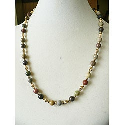'Mesa Canyon' Jasper Necklace