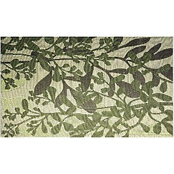 Frisco Green Indoor/ Outdoor Reversible Area Mat (4' x 6')